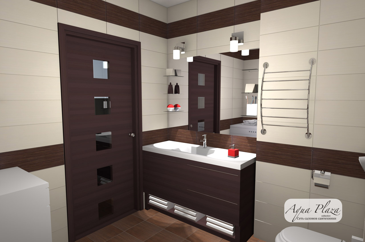 Готовые дизайнерские решения для ванных комнат и санузлов
