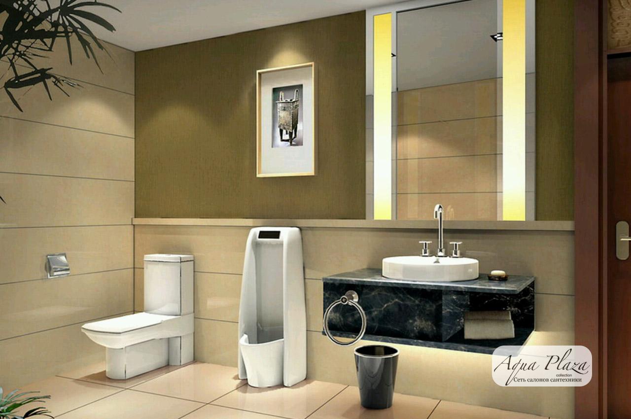 Ванная комната дизайн 2018