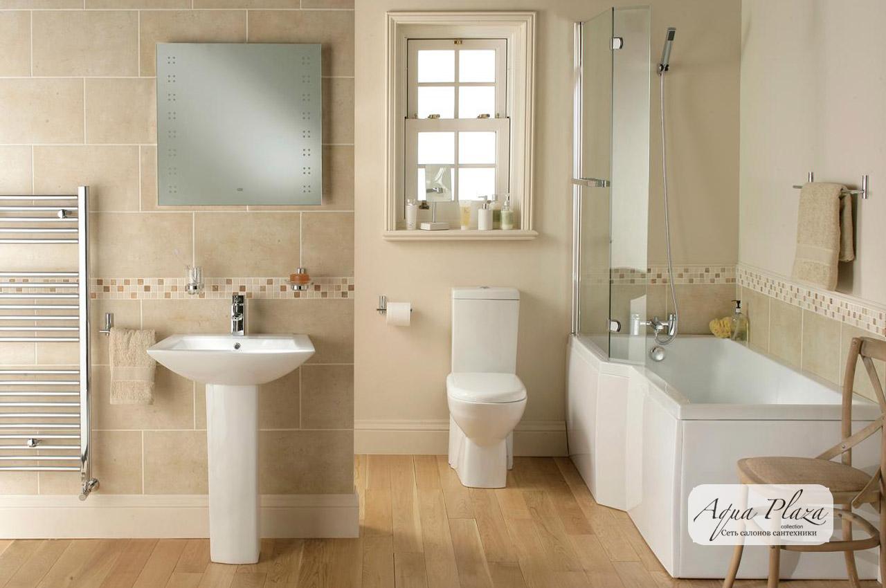 Сантехника. Готовые дизайнерские решения для ванных комнат и санузлов
